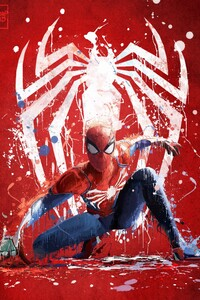 Spiderman Ps4 Art 2018