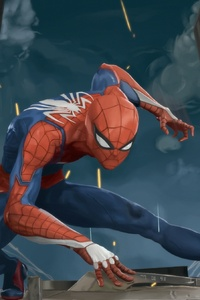 Spiderman Ps4 Arts