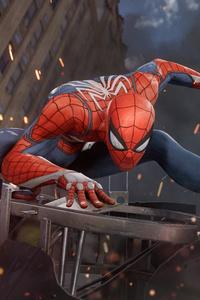 480x800 Spiderman PS4 E3 2017 4k