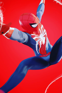 Spiderman PS4 Fan Art 4k
