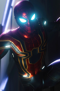 Spiderman PS4 Iron Spider Suit