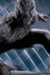 480x800 Spiderman Raimi Black Suit