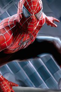 720x1280 Spiderman Raimi Suit 4k