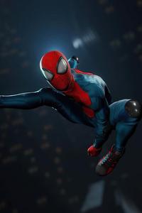 1280x2120 Spiderman Remastered 4k