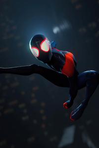 1280x2120 Spiderman Remastered Suit 4k