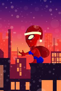 Spiderman Santa Claus