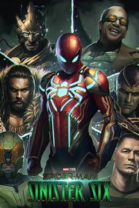 1440x2960 Spiderman Sinister Six 4k