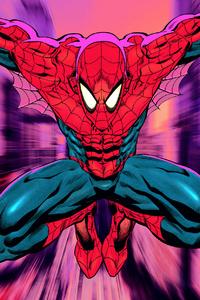 360x640 Spiderman Sketchy Art