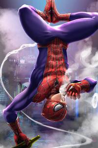 480x800 Spiderman Smoker