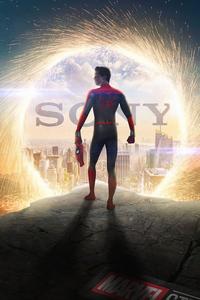 2160x3840 Spiderman Sony 4k