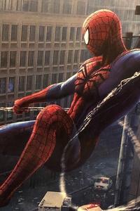 Spiderman Spider Web 4k