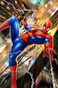 Spiderman Spider Web Art