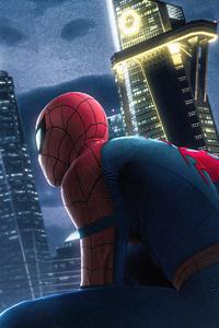 Spiderman Stark Tower 4k
