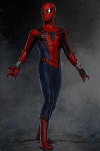 Spiderman Suit Artwork