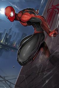 Spiderman Superhero Art