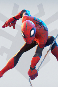 Spiderman Superhero Character Art 4k