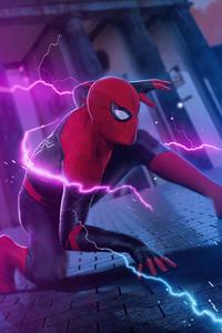 800x1280 Spiderman Surreal