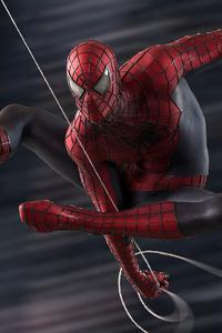 1440x2960 Spiderman Swing 5k