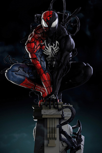 Spiderman Symbiote Transformation 5k