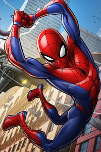 Spiderman The Animated Series Artwork