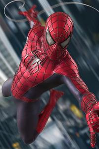 1440x2960 Spiderman The Web Crawler