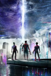 Spiderman Trio 4k