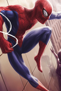Spiderman Unlimited Artwork