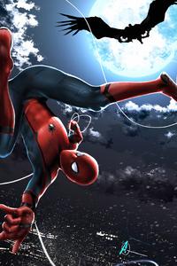 Spiderman Upside Down