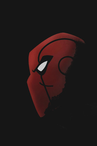 540x960 Spiderman Vector Dark 5k