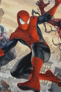 Spiderman Venom And Carnage 4k