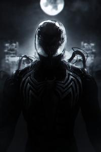 1242x2688 Spiderman Venom Symbiote 4k