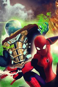 Spiderman Vs Mysterio 4k Artwork
