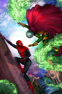 Spiderman Vs Mysterio 4k