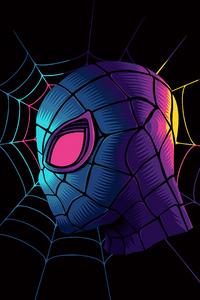 Spiderman Web Minimalist Art 4k