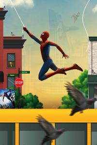 Spiderman Web Shooter Artwork