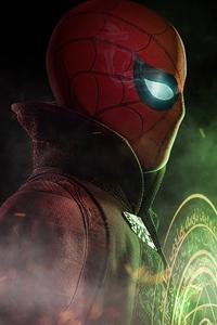 240x400 Spiderman X Doctor Strange 4k