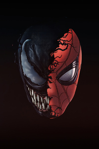 480x854 Spiderman X Venom 4k