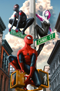 480x800 Spiderman4k Art