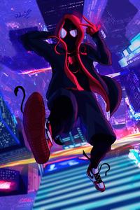 1080x1920 Spiderverse Animated 4k