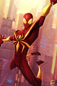 Spiderverse Classic Iron Poster 4k