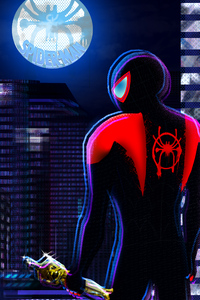 Spiderverse Oscar Winner Poster 4k