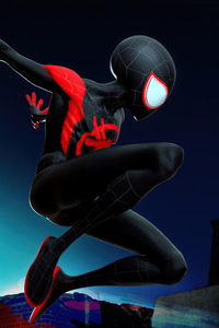 2160x3840 Spiderverse Spidey 5k