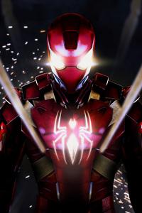 Spidey Iron Suit 4k