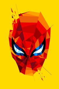 1242x2688 Spidey Mask Artwork