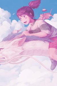 Spirited Away Anime 4k