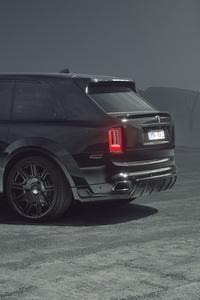 1080x2160 Spofec Rolls Royce Cullinan Black Badge 2021 10k