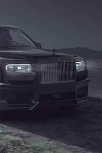 1125x2436 Spofec Rolls Royce Cullinan Black Badge 2021