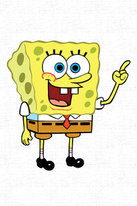 1280x2120 Spongebob 4k