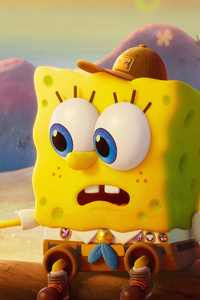 640x1136 SpongeBob And Gary Cute 4k