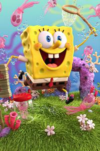2160x3840 SpongeBob SquarePants 4k 2020